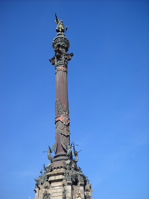 Барселона - Памятник Колумбу