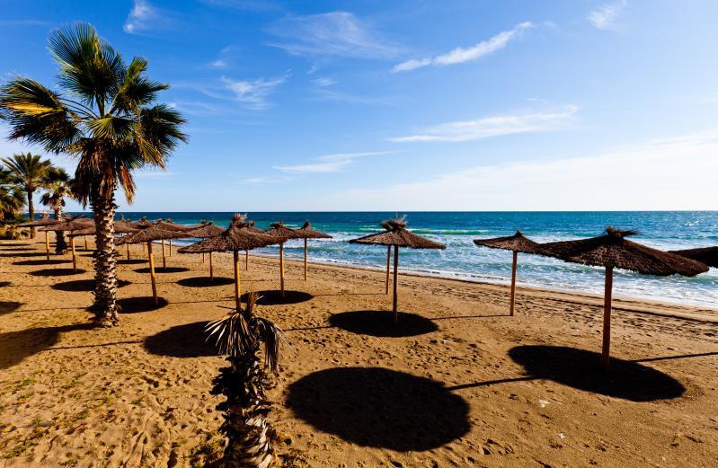 Марбелья - песчаный Пляж