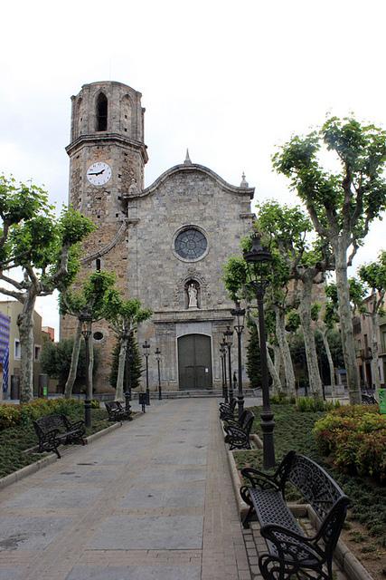 церковь Святого Николая Мальграт-де-мар