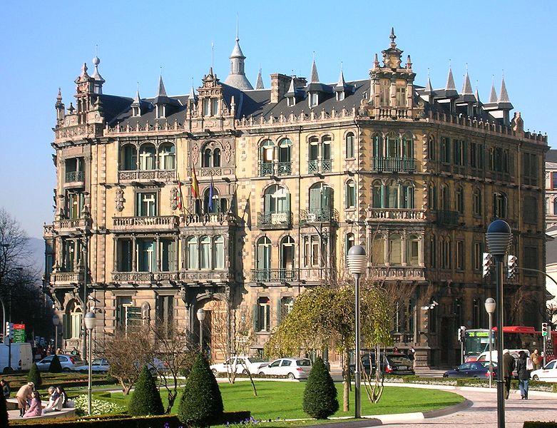 Дворец Чаварри в Бильбао
