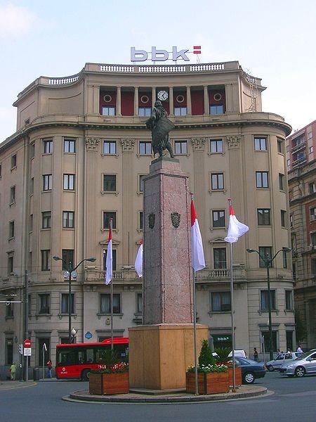 Памятник Диего Лопес де-Аро, основателю Бильбао