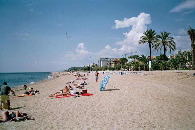 Пляж в Пинеда-де-Маре