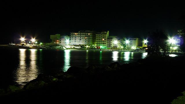 Са-Кома ночью
