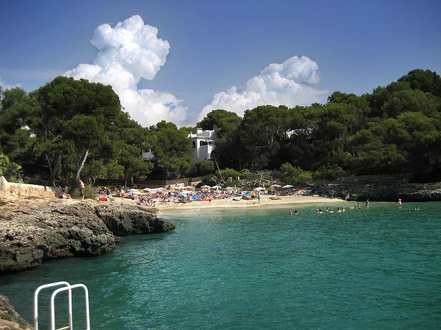 пляж в Кала д'Ор