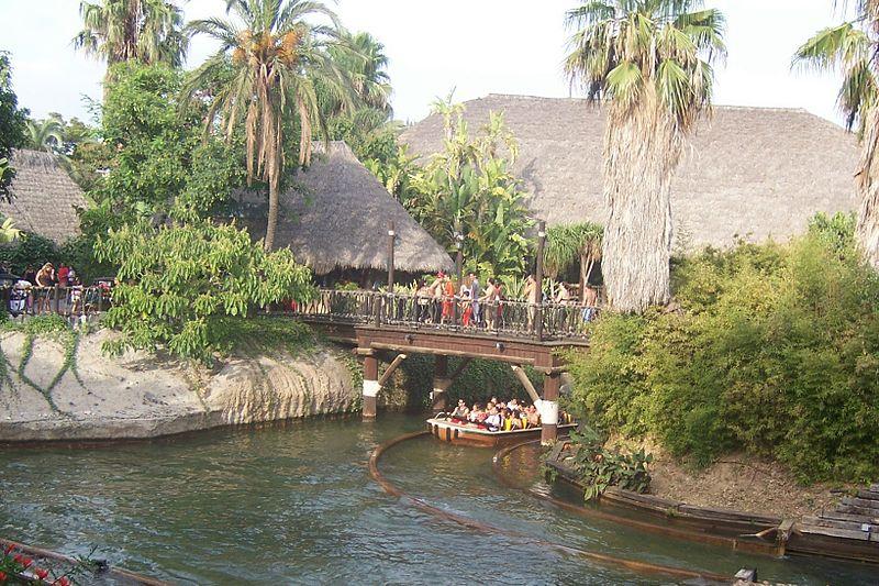 Река в Полинезии