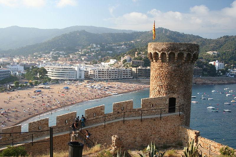 Вид на город с крепости