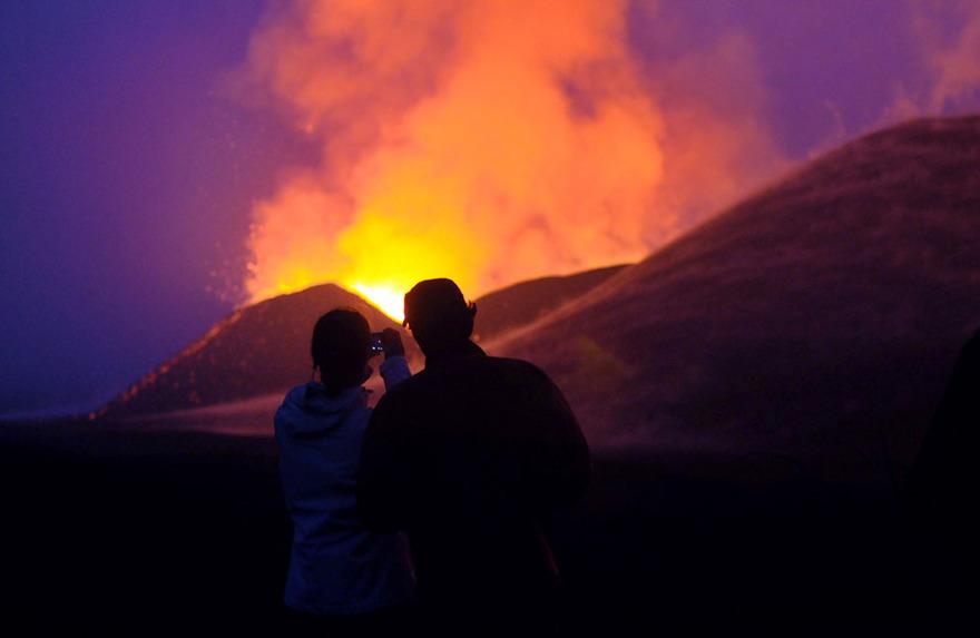 Вулкан на Острове Йерро