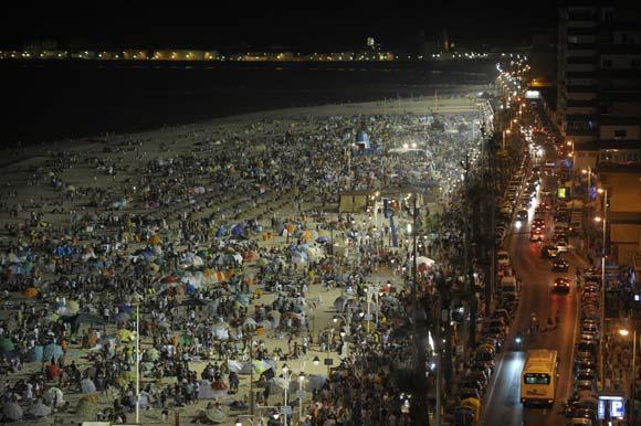 Ночные пляжи Кадиса