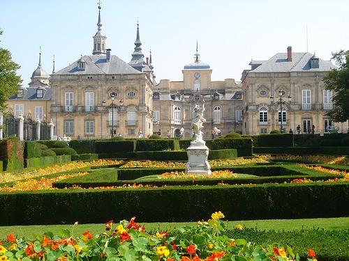 Сад замка Ла-Гранха