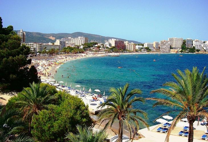 Пляжи Ильетаса