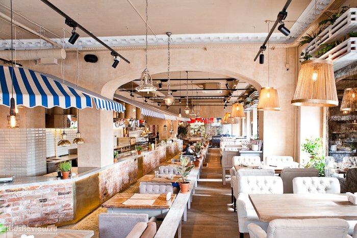 Один из многочисленных ресторанов Бесалу