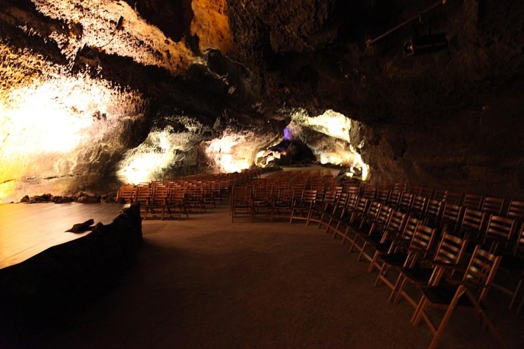 В пещере организовали концертный зал