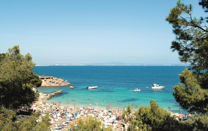 Крупнейший пляж Ильетаса