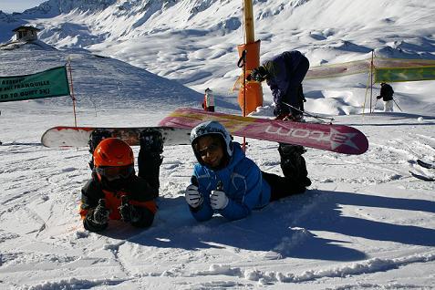 Уроки сноубординга