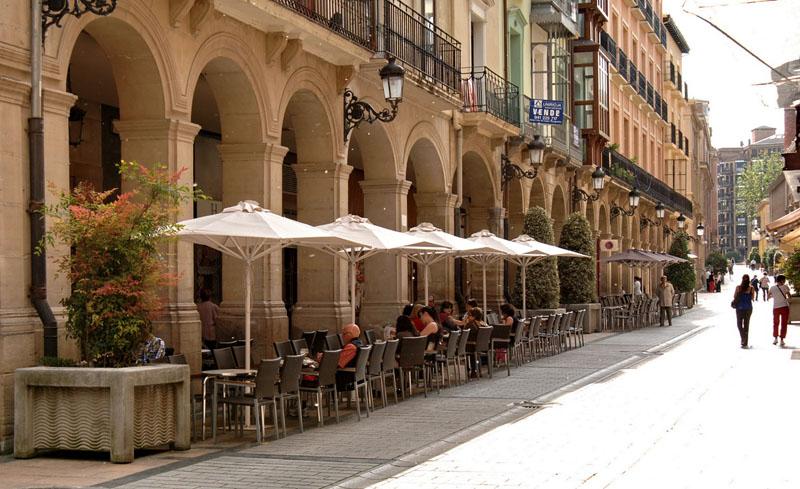 Улицы Логроньо