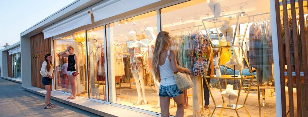 Зона шопинга
