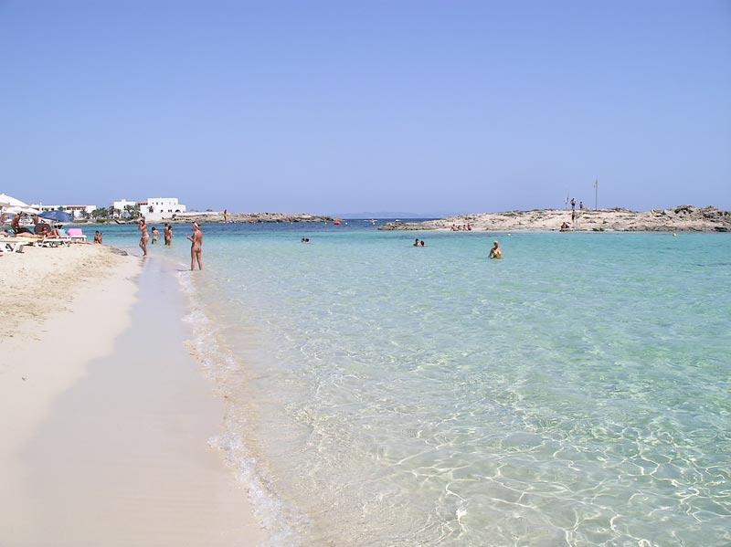 Пляжи Форментера