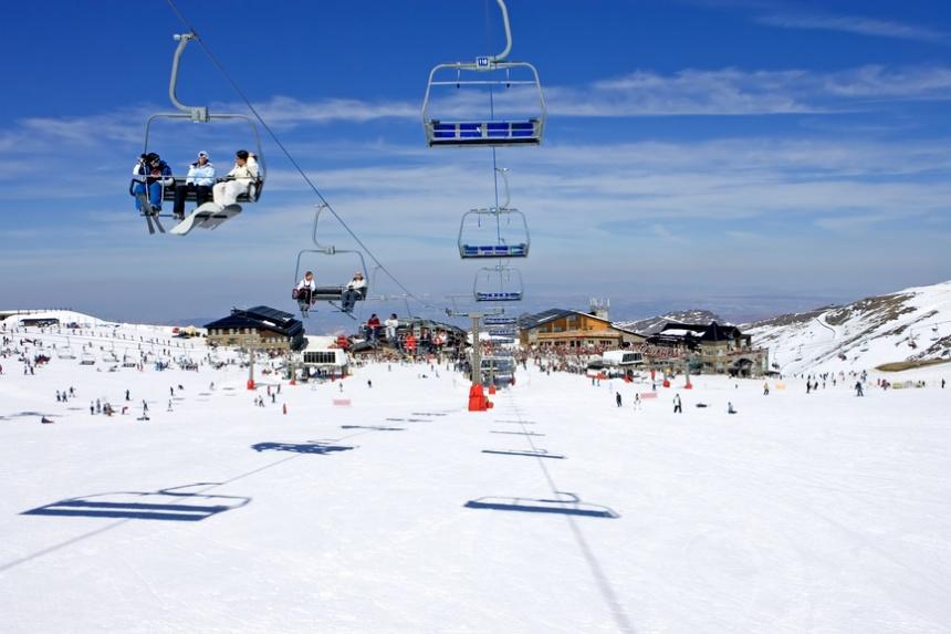 Лыжня близ Гранады