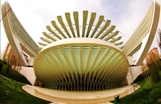 Дворец Конгрессов Калатрава.