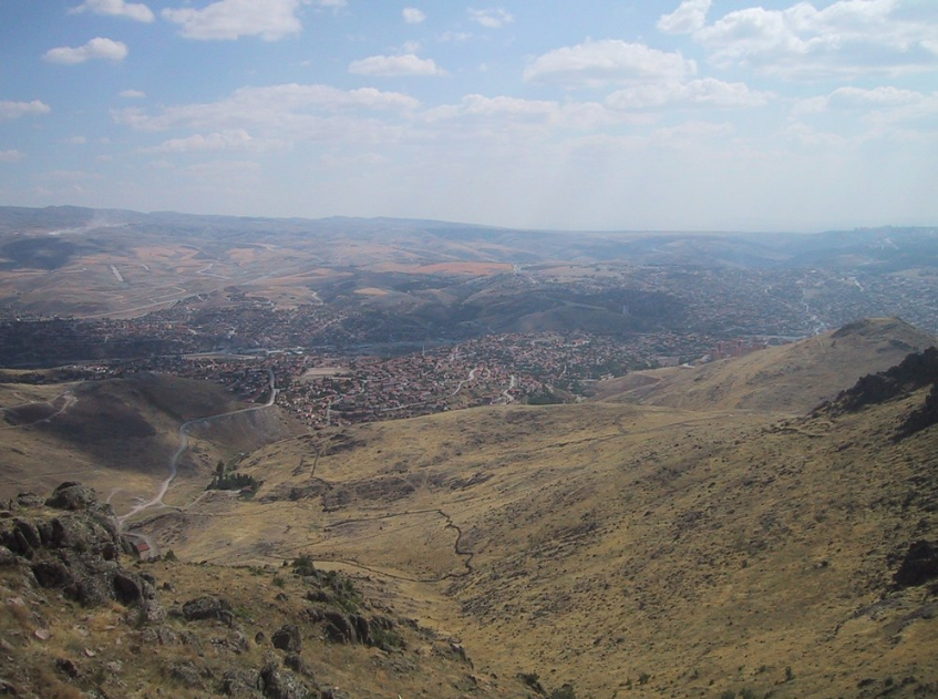 Ландшафт неподалеку Анкары