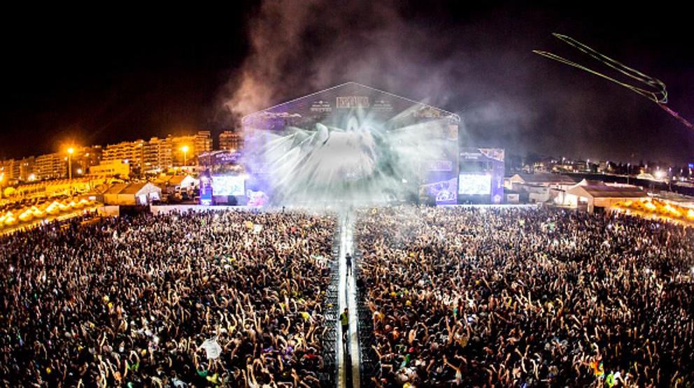 Фестиваль в Бурриане, Испания