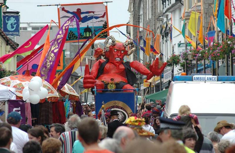 Фестиваль Golowan, Великобритания
