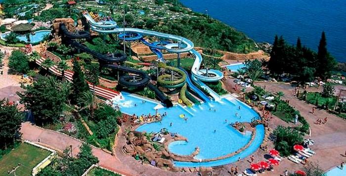 Самый большой парк в Анталии - Дедеман