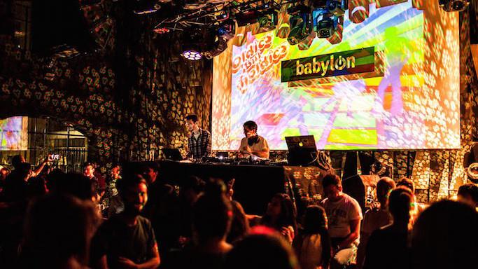 """Клуб """"Babylon"""" в Стамбуле"""