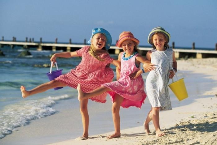 В феврале на отдых с детьми можно отправиться на пляжные курорты