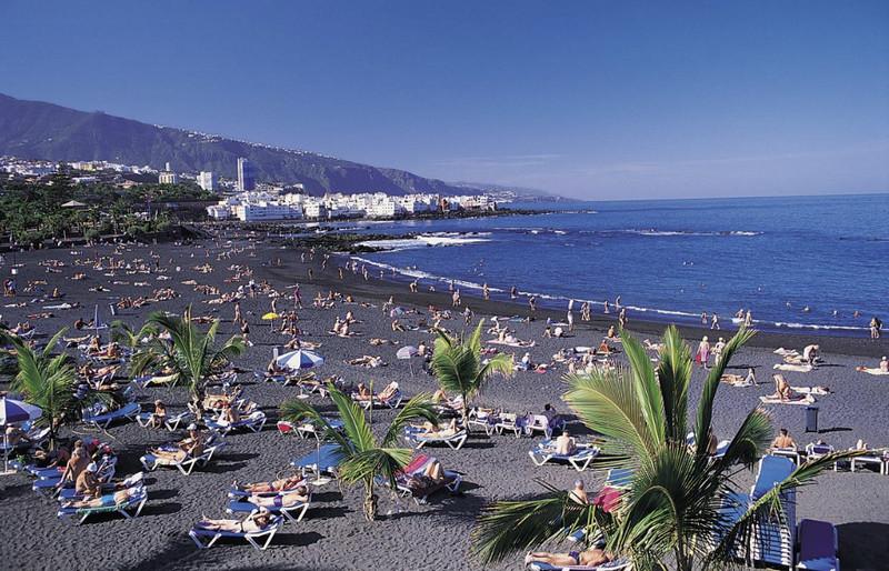 Пляжный отдых на Тенерифе