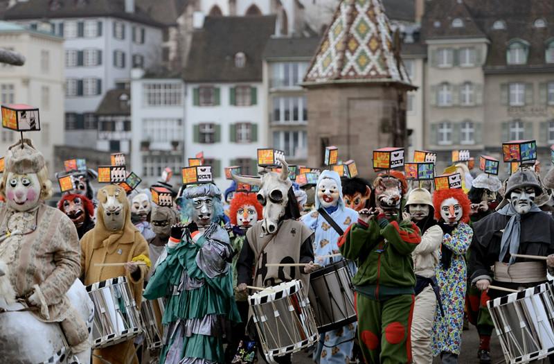 Фаснахт в Базеле, или карнавал по-швейцарски