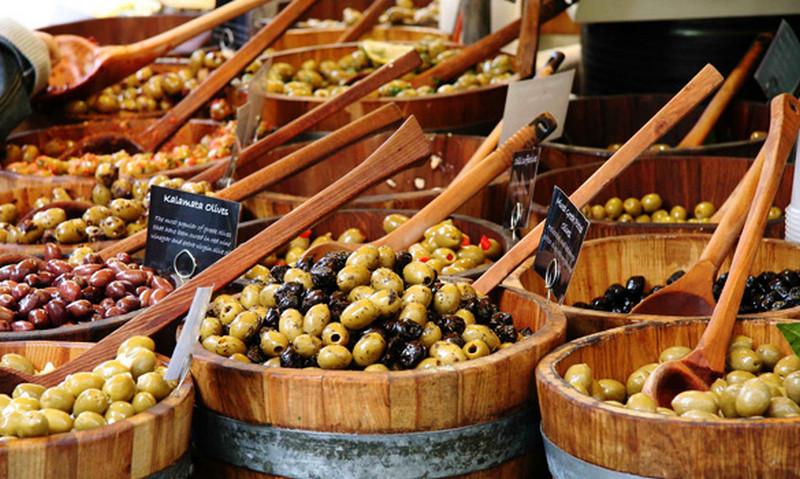 Фестиваль оливок в Испании
