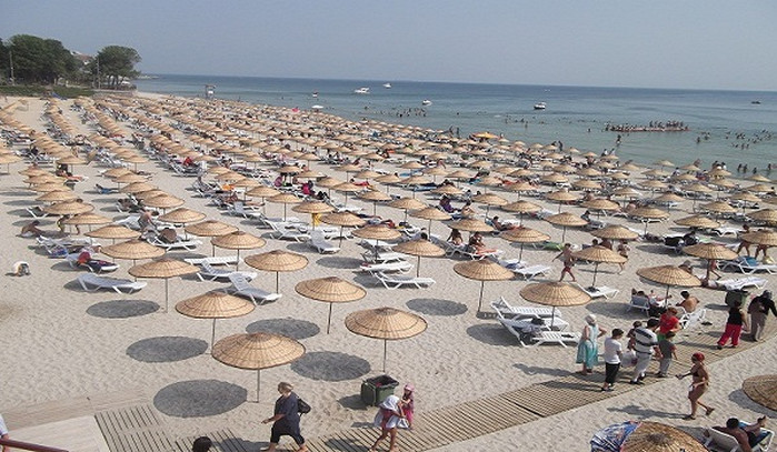Флорье - один из самых популярных пляже Стамбула
