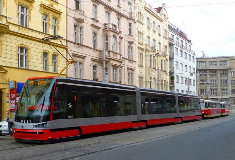 Городской транспорт столицы Чехии