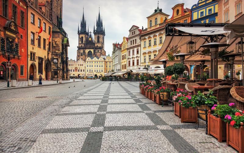 Прага - город башен