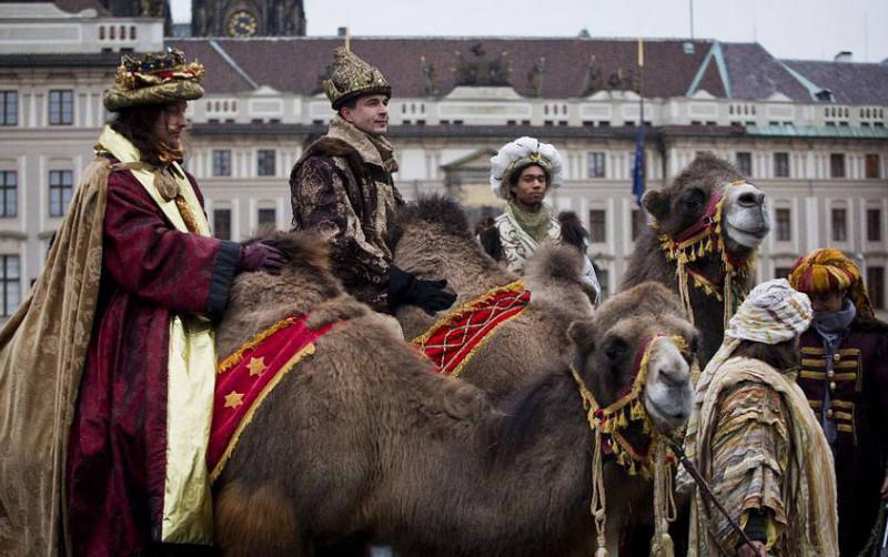 6 января в Чехии отмечают день Богоявления
