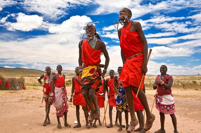Местные племена в Кении