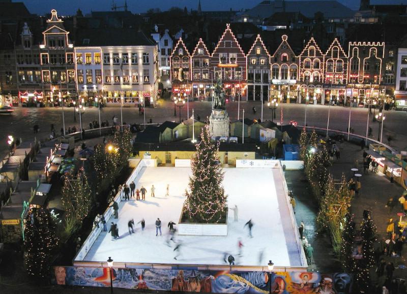 Рождество в Брюгге