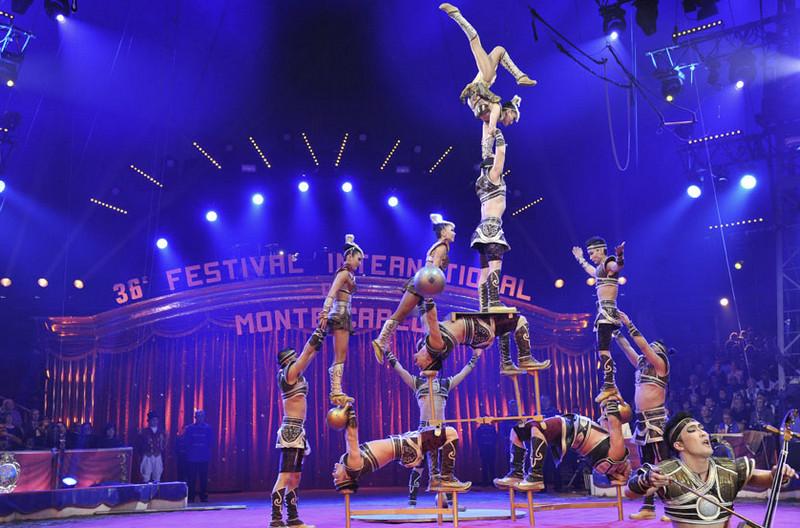 Фестиваль цирка в Монте-Карло