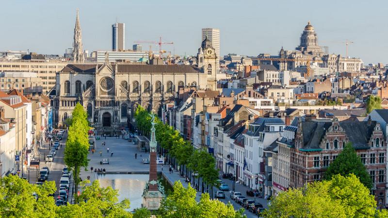 Брюссель - культурный и политический центр Бельгии
