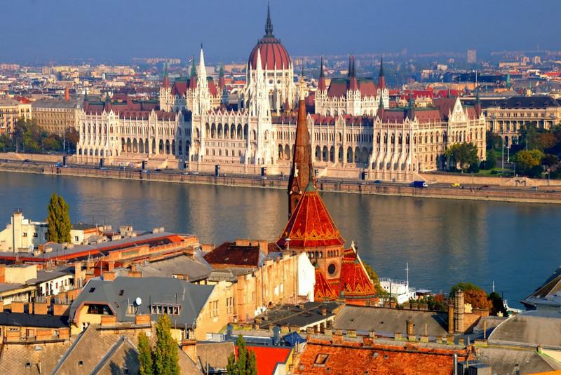 Будапешт - одна из самых красивых столиц Европы