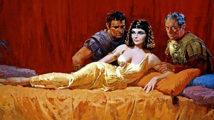 Клеопатра, Марк Антоний и Юлий Цезарь