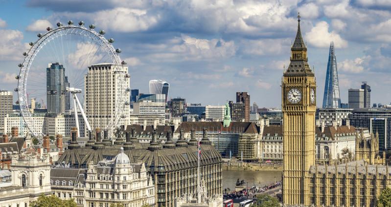 Лондон занимает второе место в Европе по численности населения