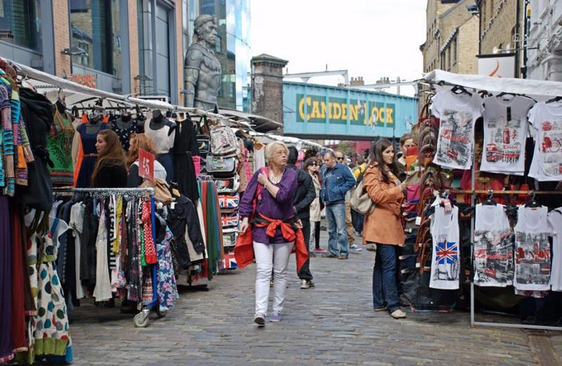 Рынок Camden Lock Market