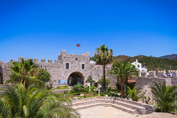 Древняя крепость Мармариса
