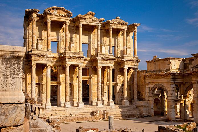 Развалины античного города Эфес