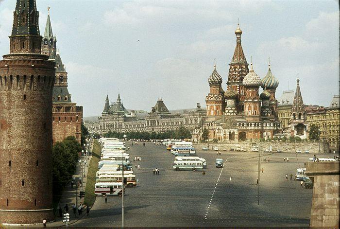 Красная площадь в Советское время