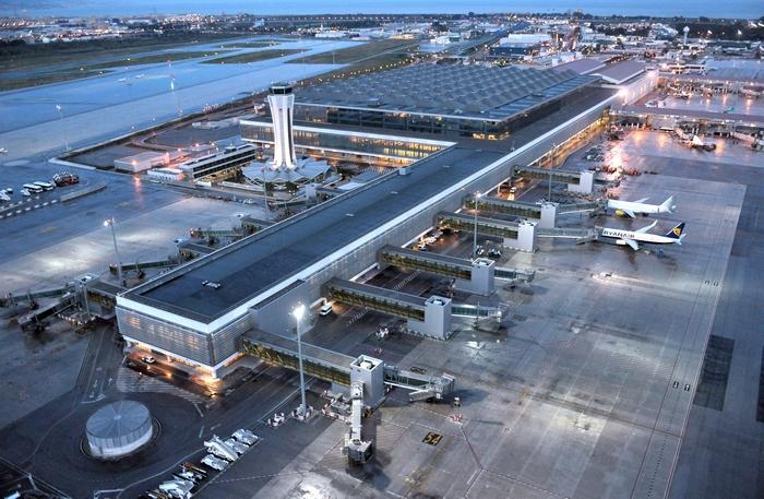 Международный аэропорт в Малаге