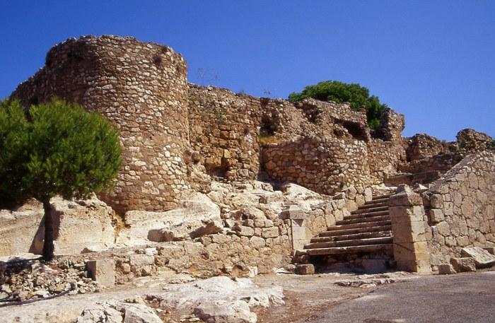 Развалины замка в Дении