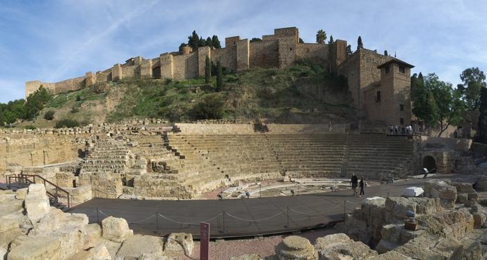 Римские руины в Малаге